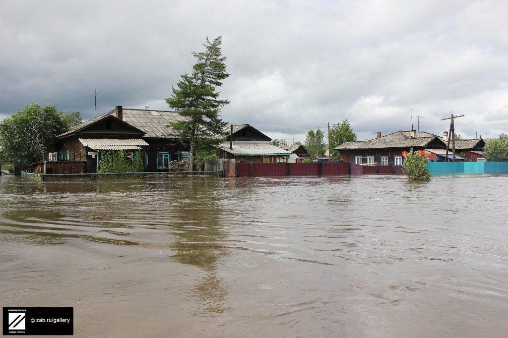 Информация для пострадавших от паводка