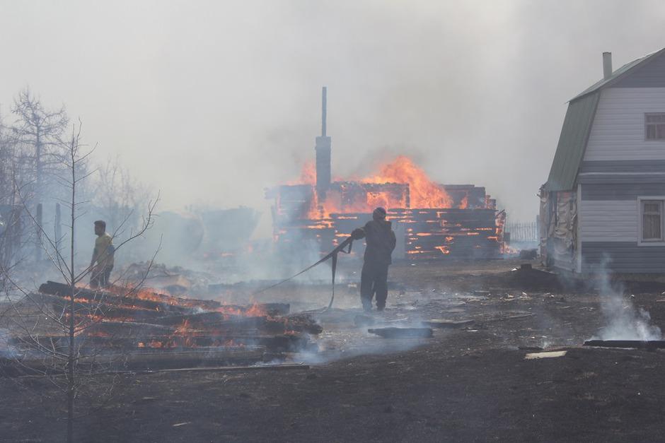 С пострадавшими от пожаров в Забайкальском крае работают психологи