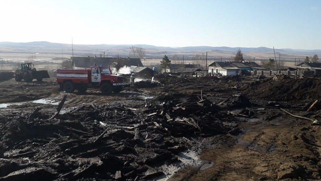 Министерство труда и соцзащиты Забайкалья составило предварительные списки граждан, пострадавших при пожарах