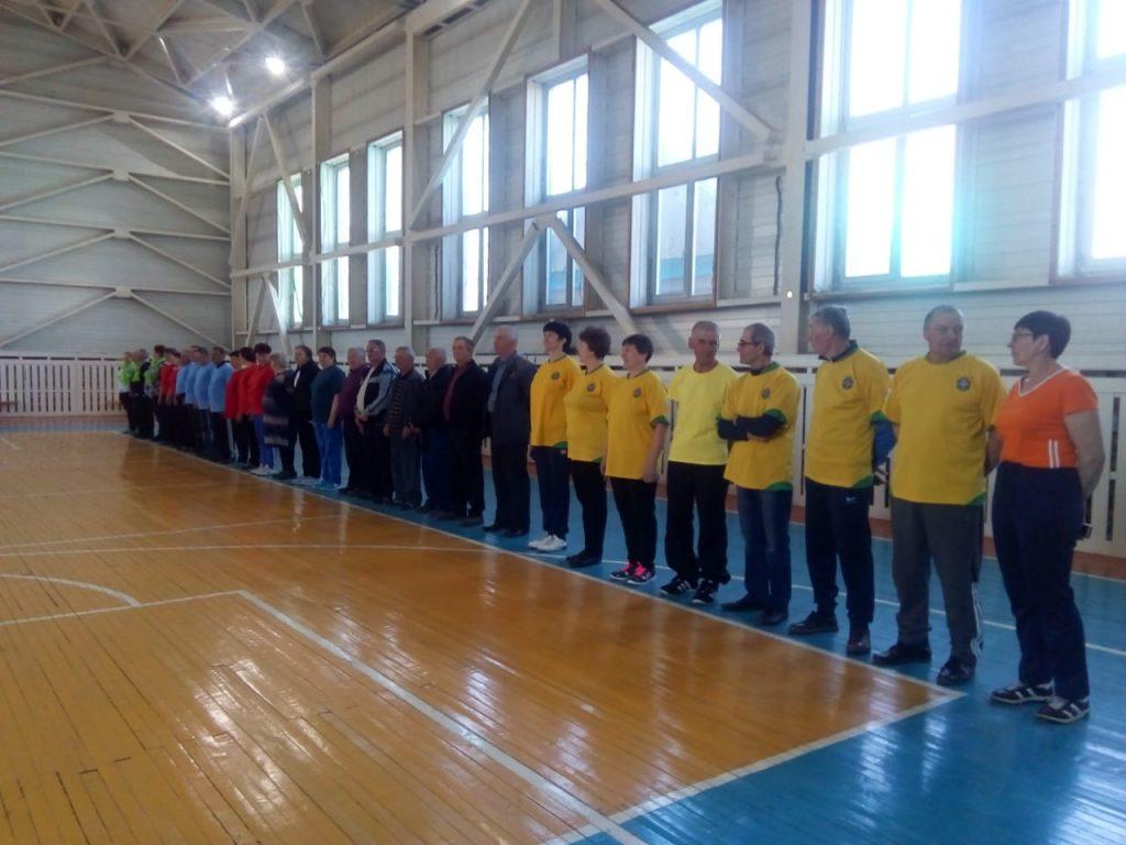 Спартакиада пенсионеров 2019 в Красночикойском районе